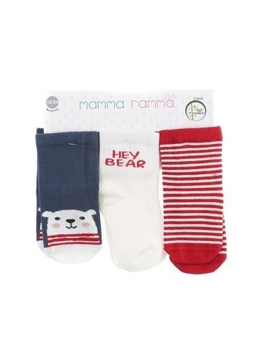 Mammaramma Soket Çorap Kırmızı